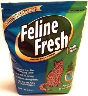 FELINE FRESH PINE LITTER 3.2KG