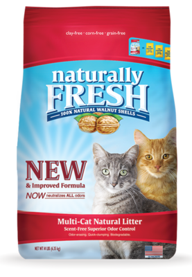 Blue Naturally Fresh Unscented Multi-Cat Clumping Litter 11.79 kg