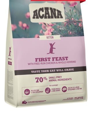 ACANA CAT - KITTEN FIRST FEAST 1.8KG