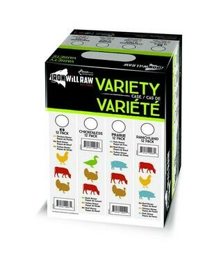 Iron Will Variety Case Chickenless 12lb