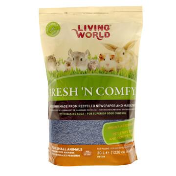 LIVING WORLD FRESH 'N COMFY BEDDING 20L BLUE