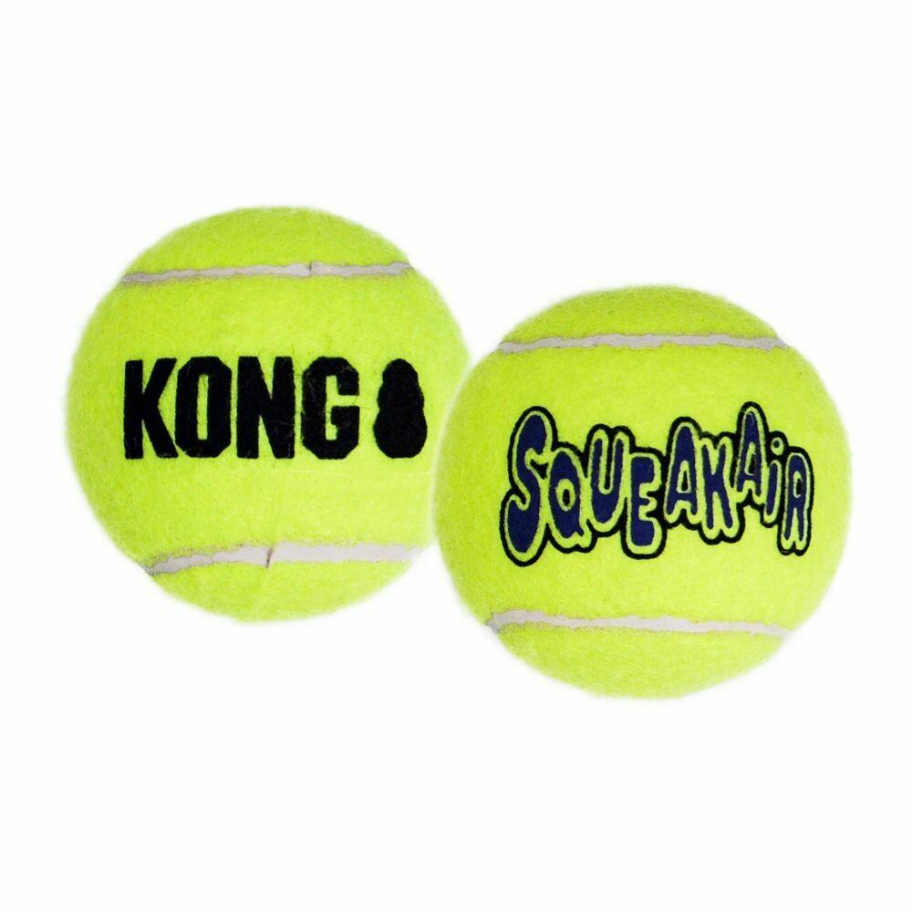 KONG SQUEAKAIR TENNIS BALL M 3PK