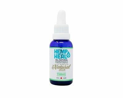 HEMP HEAL NATURAL 30ml - 750mg