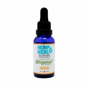 HEMP HEAL ORIGINAL 30ml - 3000mg