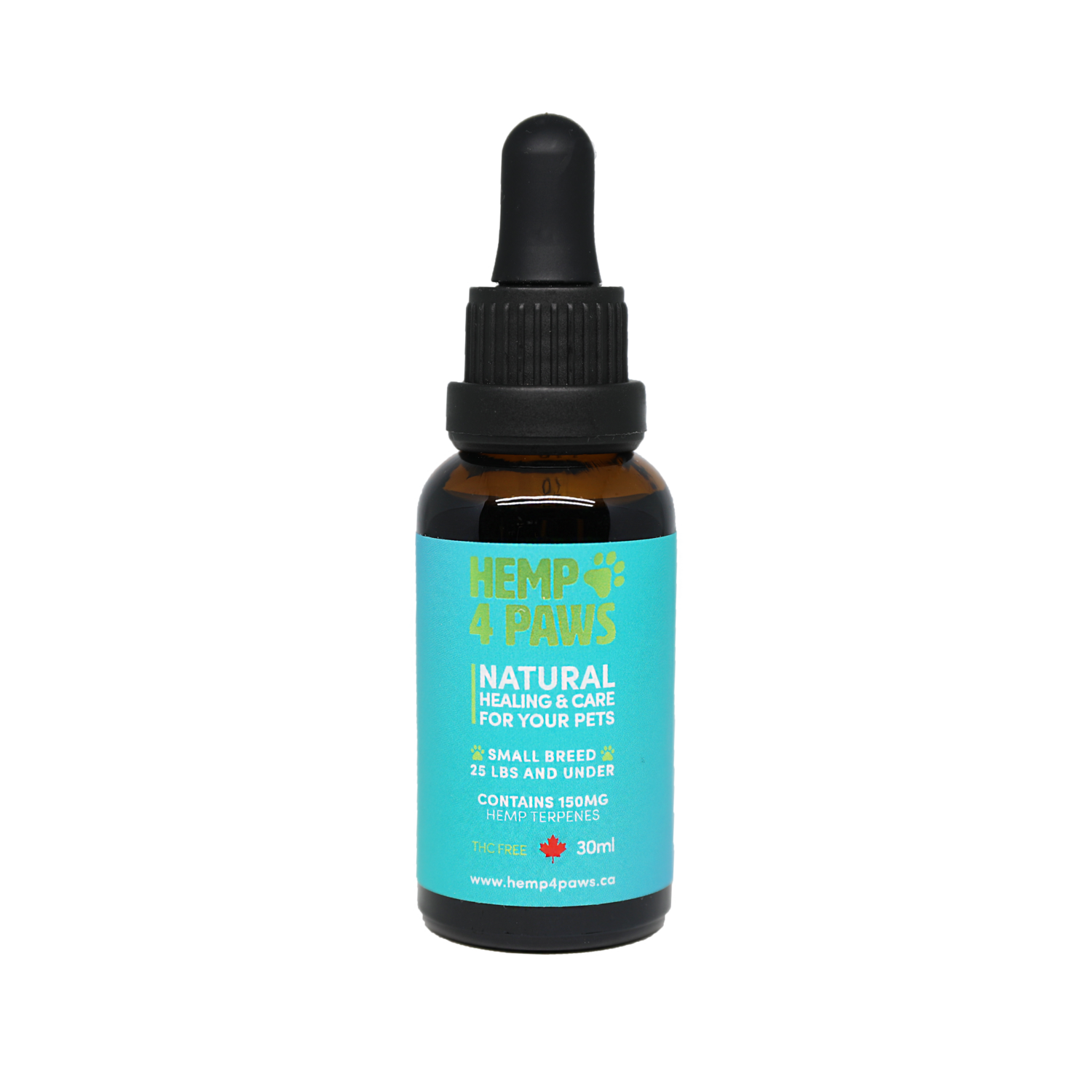 HEMP 4 PAWS HEMP OIL FOR SMALL BREEDS 30ml