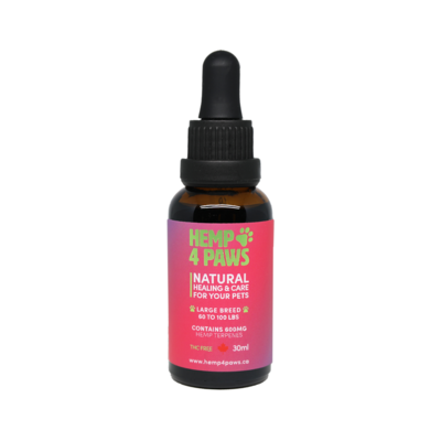 HEMP 4 PAWS HEMP OIL FOR LARGE BREEDS 30ml
