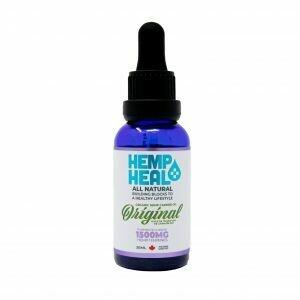 HEMP HEAL ORIGINAL 30ml - 1500mg