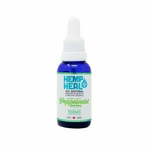 HEMP HEAL PEPPERMINT 30ml - 750mg