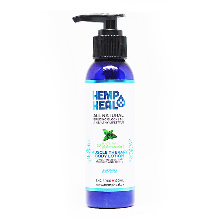 HEMP HEAL MUSCLE THERAPY LOTION 120ml - 360mg