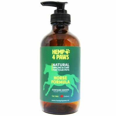 HEMP 4 PAWS HEMP OIL FOR HORSES 30ml - 5000mg
