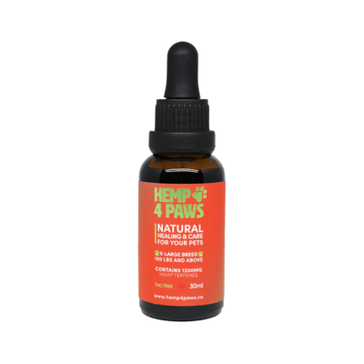 HEMP 4 PAWS HEMP OIL FOR X-LARGE BREEDS 30ml