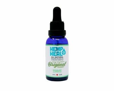 HEMP HEAL ORIGINAL 30ml - 750mg