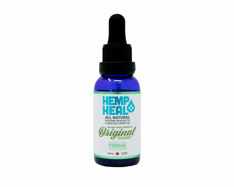 HEMP HEAL ORIGINAL 30ml - 750mg