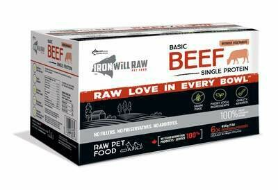 Iron Will Basic Beef 6 lb