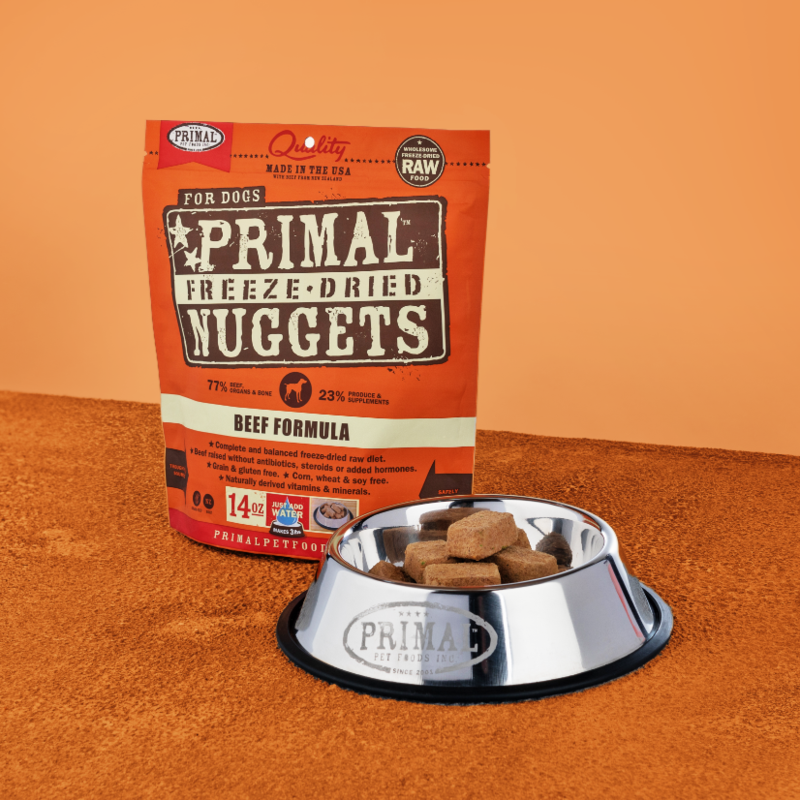 PRIMAL FREEZE-DRIED NUGGETS - BEEF 5.5OZ
