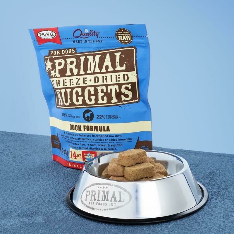 PRIMAL FREEZE-DRIED NUGGETS - DUCK 5.5OZ