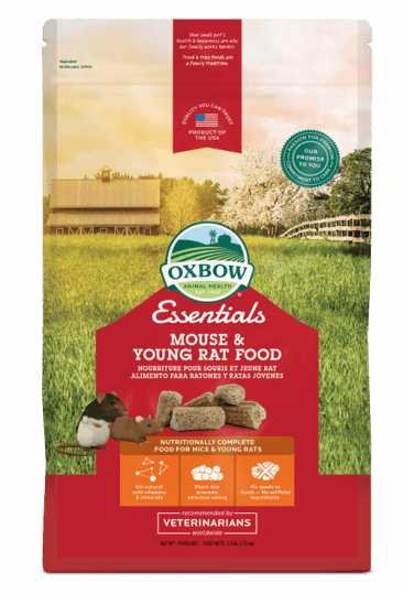 OXBOW ESSENTIALS MOUSE & YOUNG RAT 2.5lb