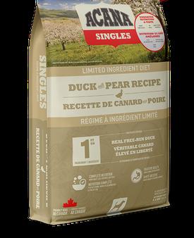 ACANA SINGLES DUCK & PEAR 5.4kg