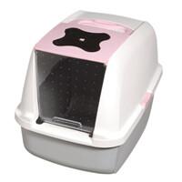 Catit Large Hooded Litter Pan Pink