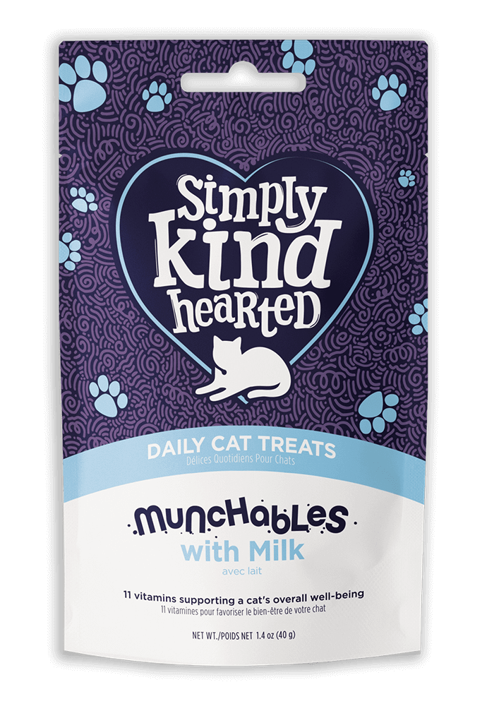 Simply Kind Hearted Cat - Munchables With Milk 40g
