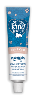 Simply Kind Hearted Cat - Squeezables Skin & Coat 50g