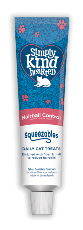 Simply Kind Hearted Cat - Squeezables Hairball Control 100g