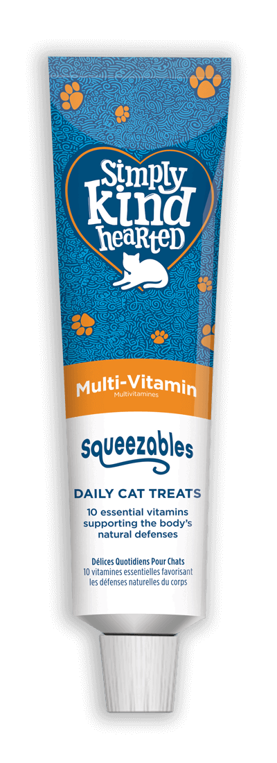 Simply Kind Hearted Cat - Squeezables Multi-Vitamin 50g