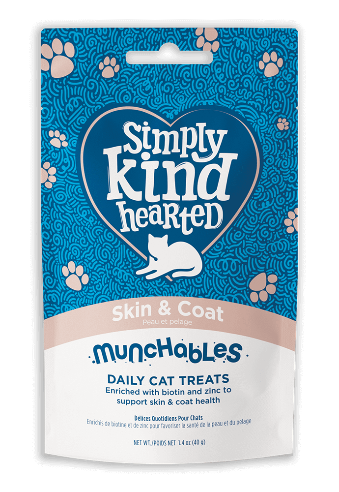 Simply Kind Hearted Cat - Munchables Skin & Coat 40g