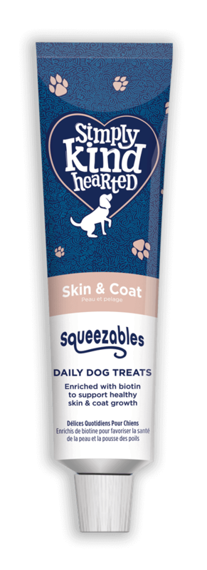 Simply Kind Hearted Dog - Squeezables Skin & Coat 200g