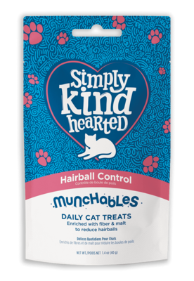 Simply Kind Hearted Cat - Munchables Hariball Control 40g