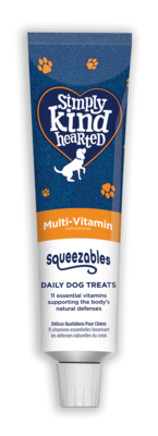 Simply Kind Hearted Dog - Squeezables Multi-Vitamin 50g