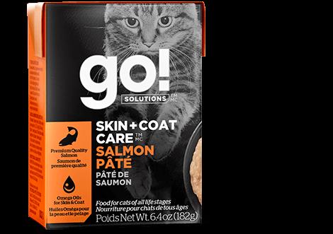 Go! Cat Skin & Coat Salmon Pate 6.4oz