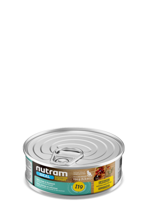 NUTRAM CAT CAN CHICKEN & SALMON 5.5OZ