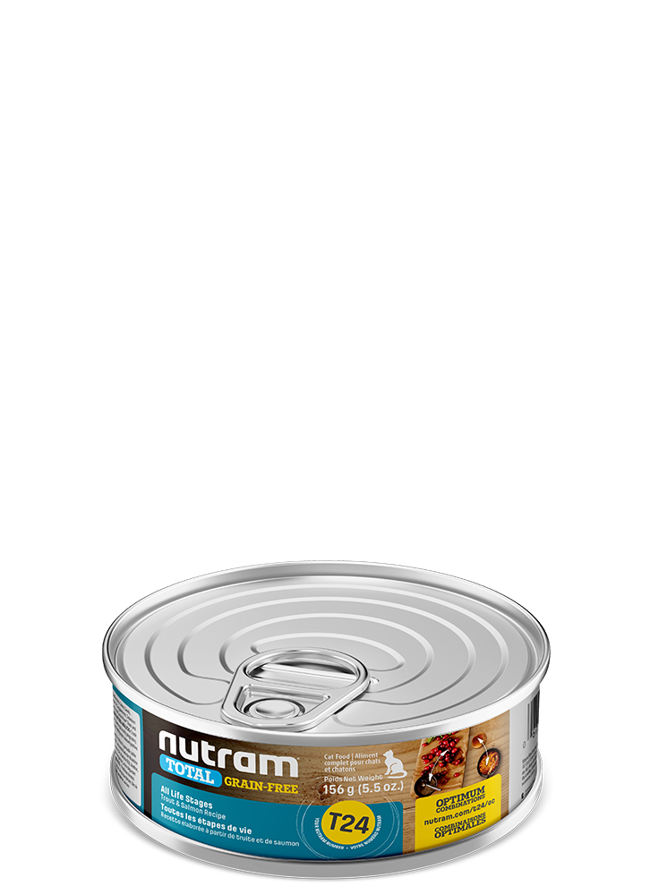 NUTRAM CAT CAN TROUT & SALMON 5.5OZ
