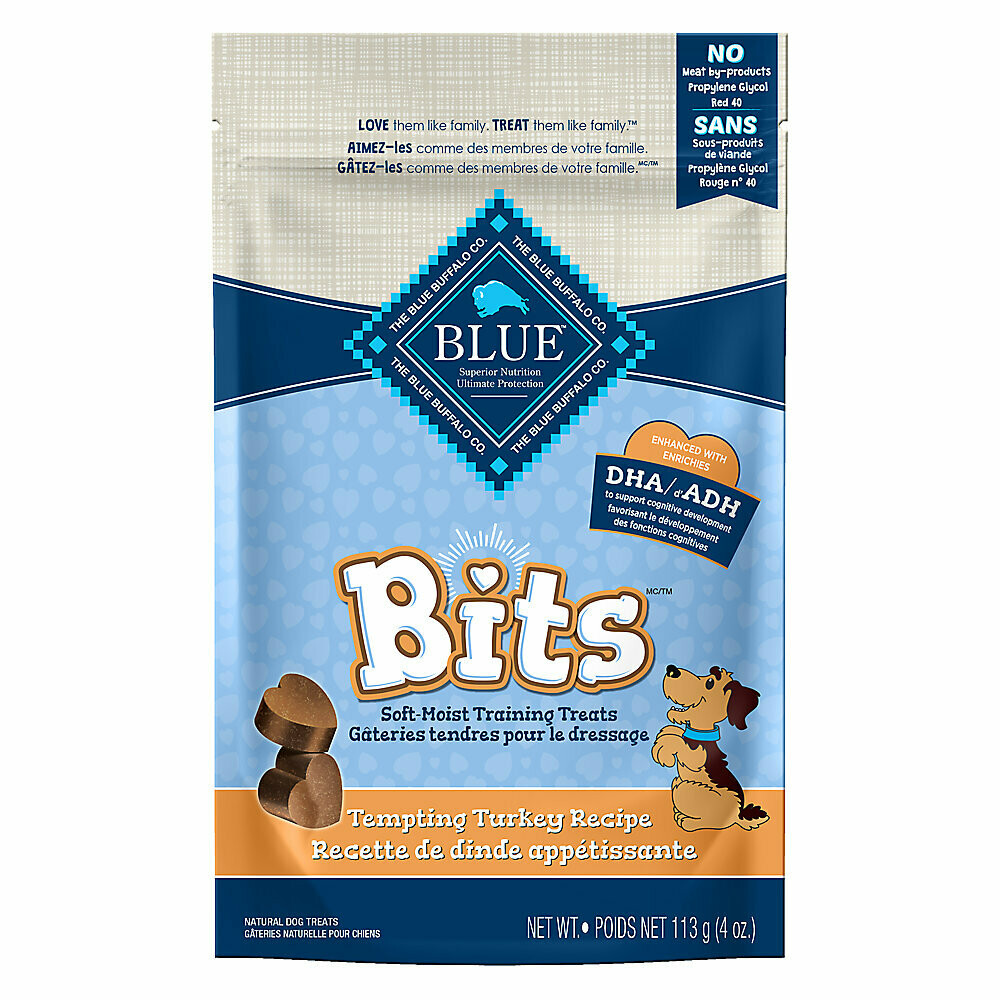 Blue Buffalo Bits - Tempting Turkey Soft Moist Treats 4oz