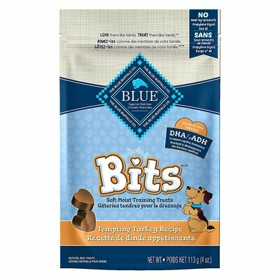 Blue Buffalo Bits - Tempting Turkey Soft Moist Treats 4oz