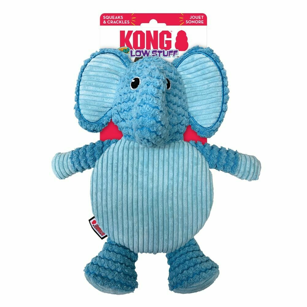 KONG LOW STUFF CRACKLE TUMMIEZ ELEPHANT L