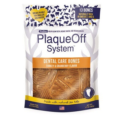 PlaqueOff Dental Bones Turkey 17oz