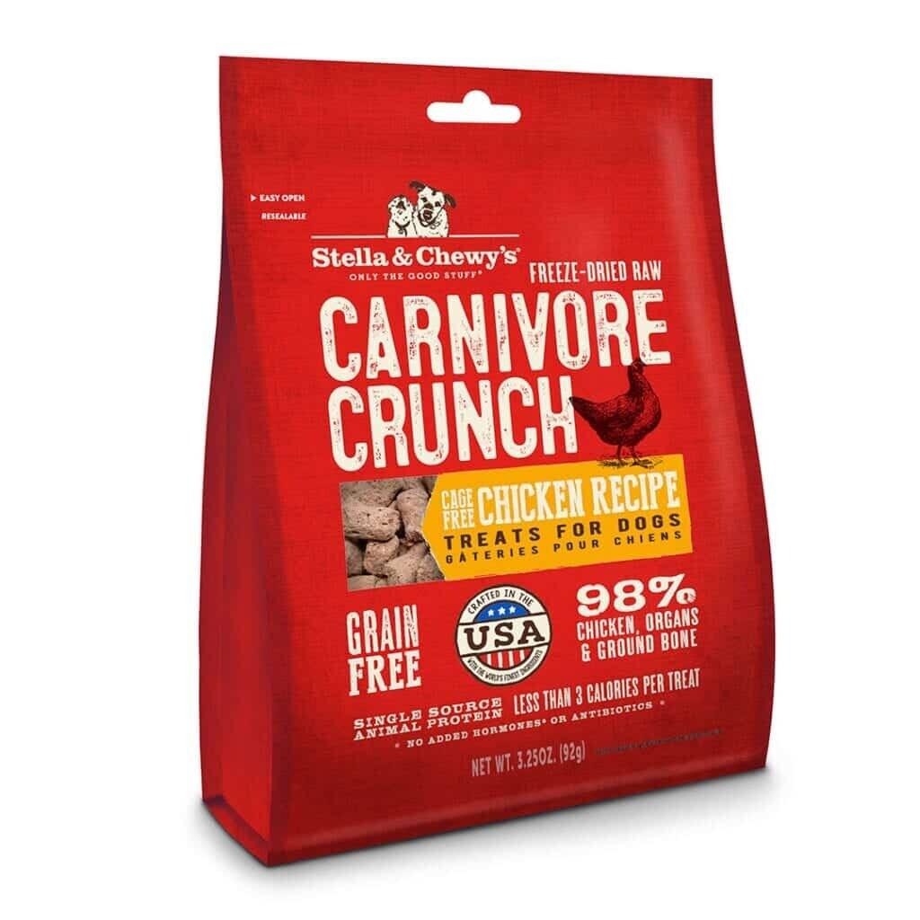 Stella & Chewy - Chicken Freeze Dried Carnivore Crunch 3.25oz