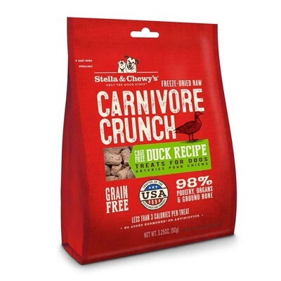 Stella & Chewy - Duck Freeze Dried Carnivore Crunch 3.25oz
