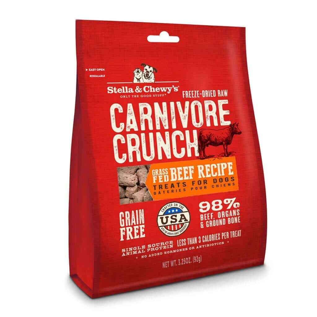 Stella & Chewy - Beef Freeze Dried Carnivore Crunch 3.25oz