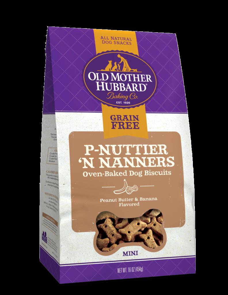 OLD MOTHER HUBBARD GRAIN FREE P-NUTTIER 'N NANNERS 20OZ