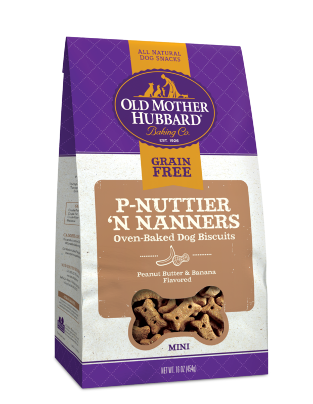 OLD MOTHER HUBBARD GRAIN FREE P-NUTTIER 'N NANNERS 20OZ