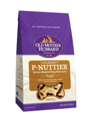 OLD MOTHER HUBBARD P-NUTTIER MINI BISCUITS 20OZ