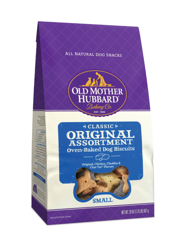 OLD MOTHER HUBBARD ORIGINAL ASSORTMENT MINI BISCUITS 20OZ