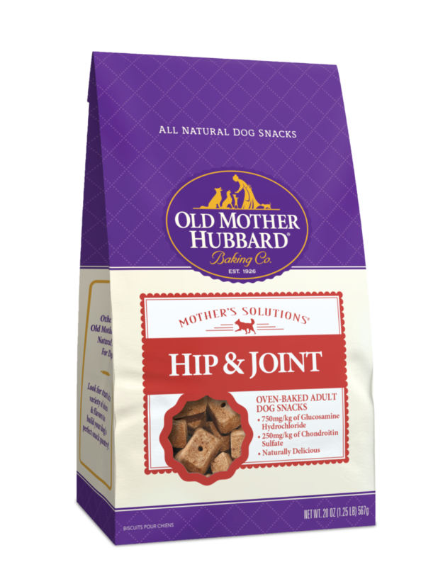 OLD MOTHER HUBBARD HIP & JOINT BISCUITS 20OZ