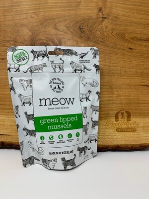 The New Zealand Pet Food Co - Meow Treats Green Lipped Mussels 50g