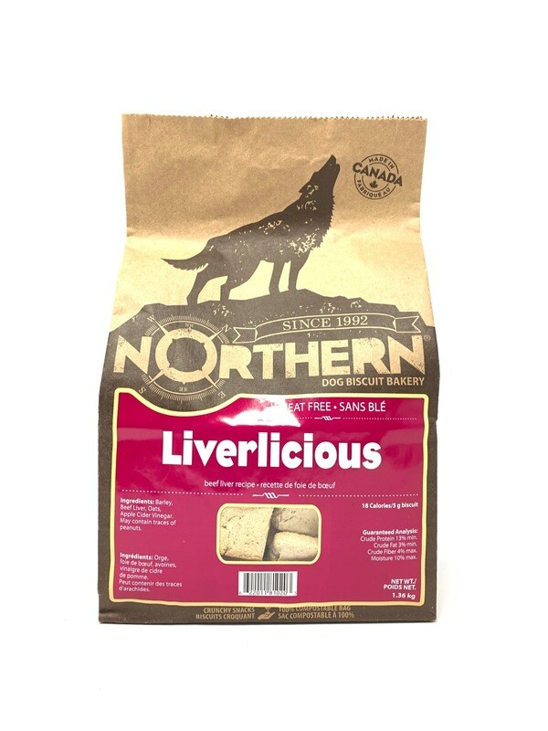 NORTHERN DOG BISCUIT - LIVERLICIOUS 1.36KG