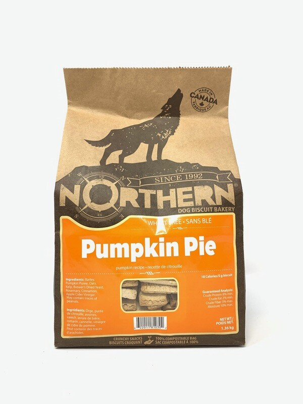 NORTHERN DOG BISCUIT - PUMPKIN PIE 1.36KG