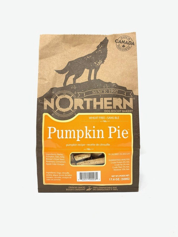 NORTHERN DOG BISCUITS - PUMPKIN PIE 500g
